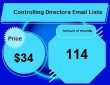 Controlling Directors Email Lists