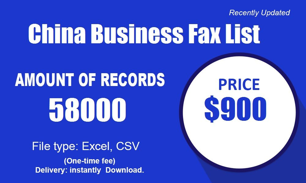 China-Fax-Number
