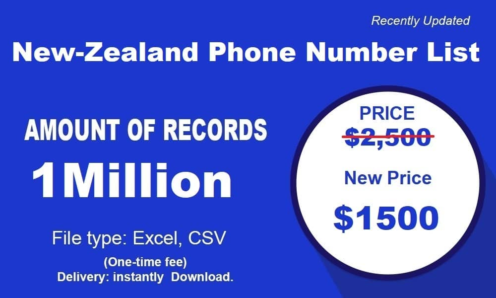 New-Zealand-Phone-Number-List