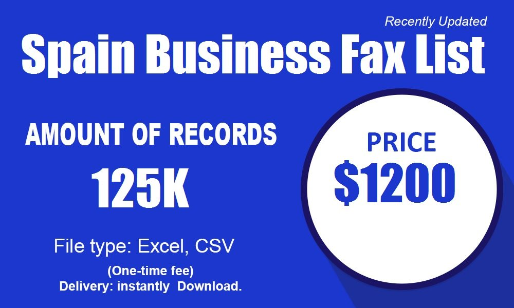 Spain-Fax-Number